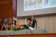 (1)留学説明会でのプレゼンテーション[Presentation_at _the_Education_Fair]