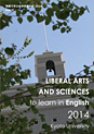 Liberal Arts and Sciences to Learn in English