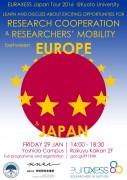 EURAXESS Japan Tour 2016 Kyoto University 29 January