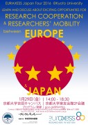 EURAXESS Japan Tour 2016 Kyoto University 29 January_jp