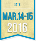 date March 14th-15th, 2016